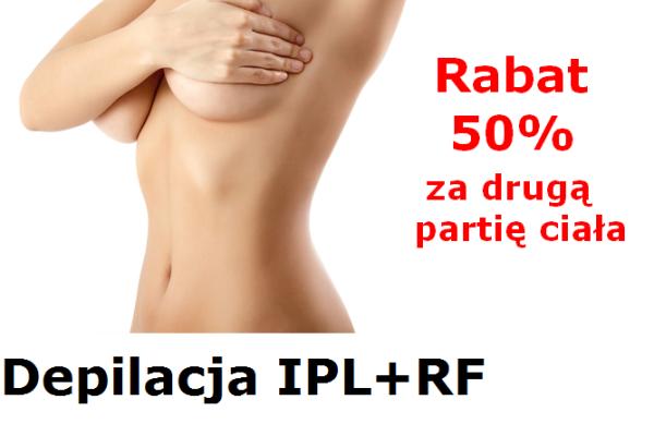 Depilacja IPL+RF i tradycyjna